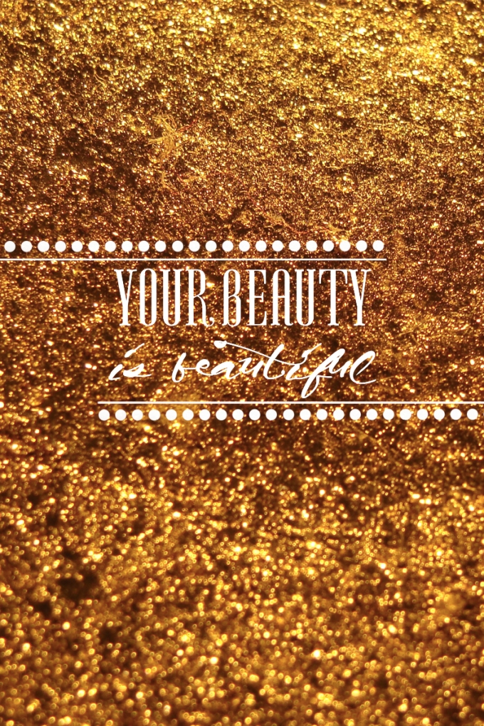 Your Beauty is beautiful 4s polka